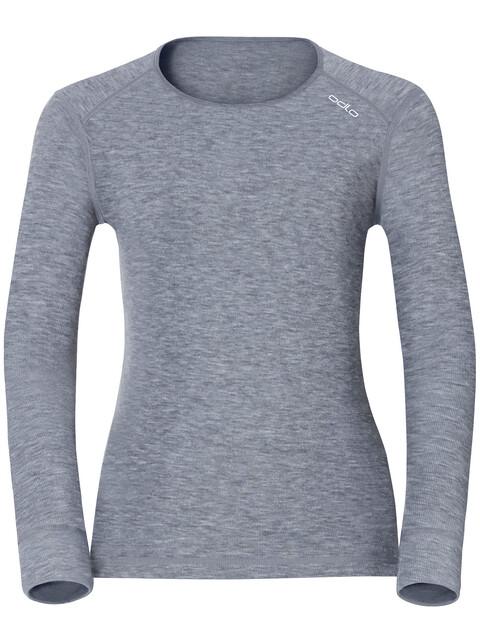 Odlo Active Originals Warm LS Shirt Crew Neck Women grey melange